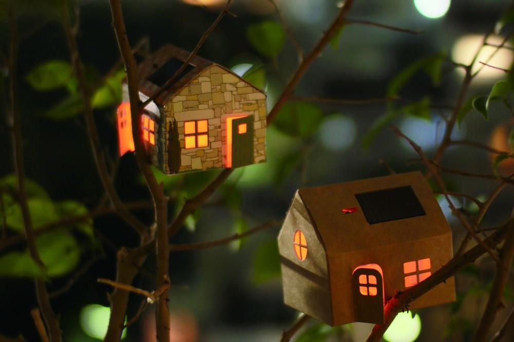 フランス発のエコなお家CASAGAMIで灯す夜のひととき