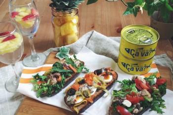 東北から届いたかわいい缶詰『Ça va?缶』で作る簡単レシピ