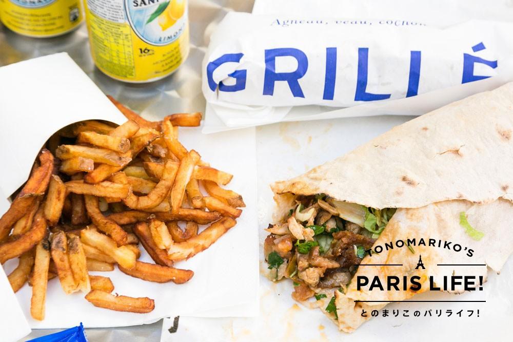 サムライソースで食べる!パリで人気のB級グルメ・ケバブ