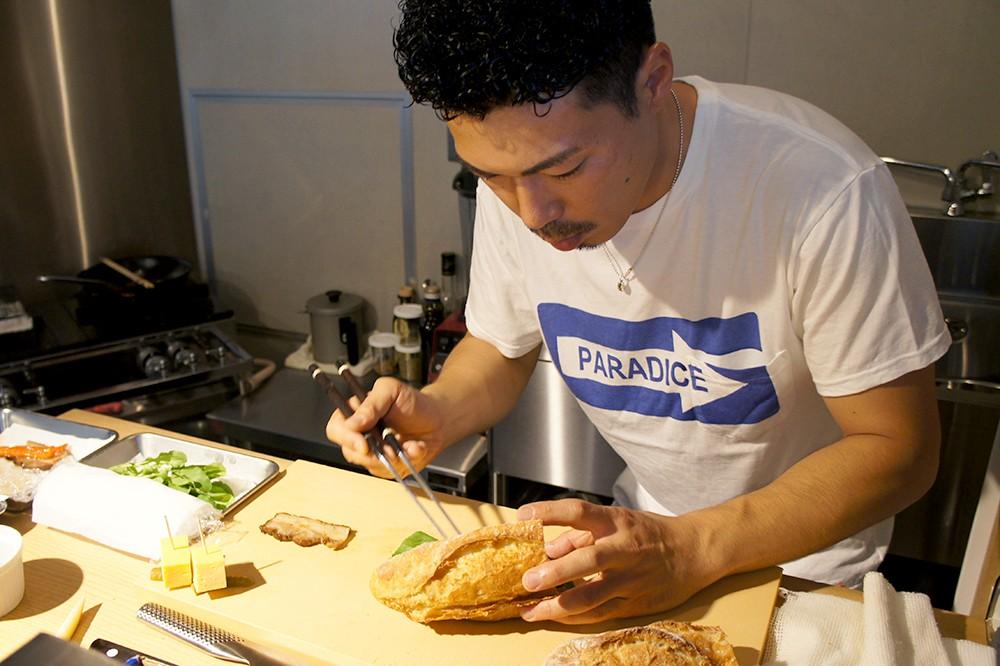 元・寿司職人が作る本格バゲットサンド。神山町『キャメルバック サンドウィッチ&エスプレッソ』