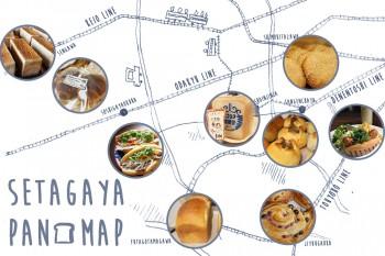 個性豊かなパン屋が集まる街・世田谷を楽しもう!世田谷パンマップ