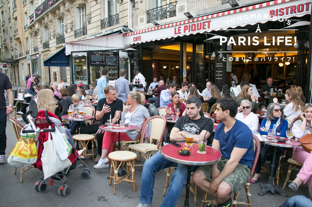 おしゃれの代名詞!?テラスカフェはパリジェンヌの日常