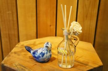 お気に入りの香りと瓶で作る、アロマディフューザー