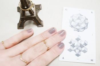 重ねづけでパリジェンヌ風!鎌倉『gram(グラム)』で作る私だけの指輪