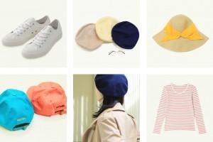 春夏のマストアイテム! overrideの帽子で作るフレンチカジュアルコーデ