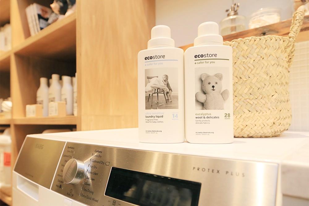 おしゃれな容器と抜群の使い心地!ecostoreの洗剤で家事をもっと楽しく