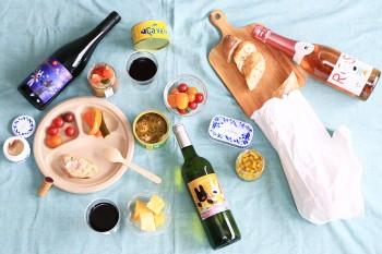 リサとガスパールワインと一緒に、初夏の楽しみアペロピクニックへ