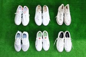 この夏の足元はまばゆいホワイトで決まり!おすすめ白スニーカー7選