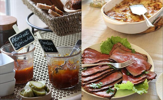 Chambre d' hôte(シャンブル・ドット)の朝食