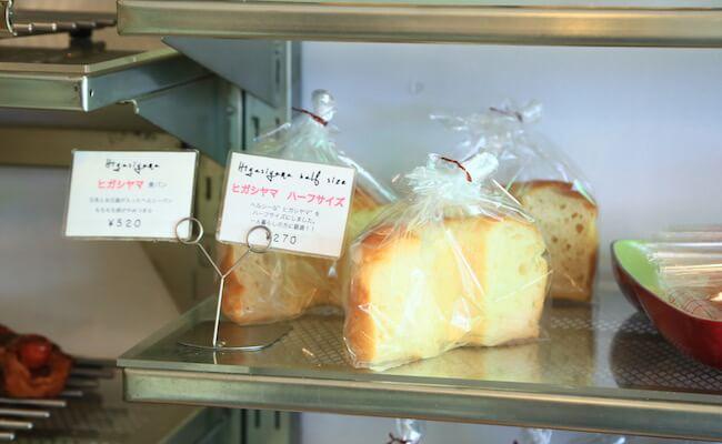 トロパントウキョウの食パン「ヒガシヤマ」は珍しいシフォン型