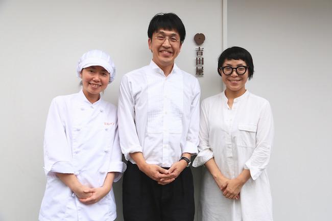 コッペパン専門店「吉田パン」のお店の方々