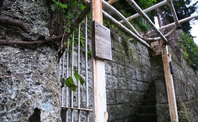 山手のパン屋『オンザディッシュ』の入り口