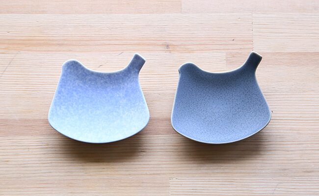 イイホシユミコ 豆皿「yumiko iihoshi porcelain tori プレート」