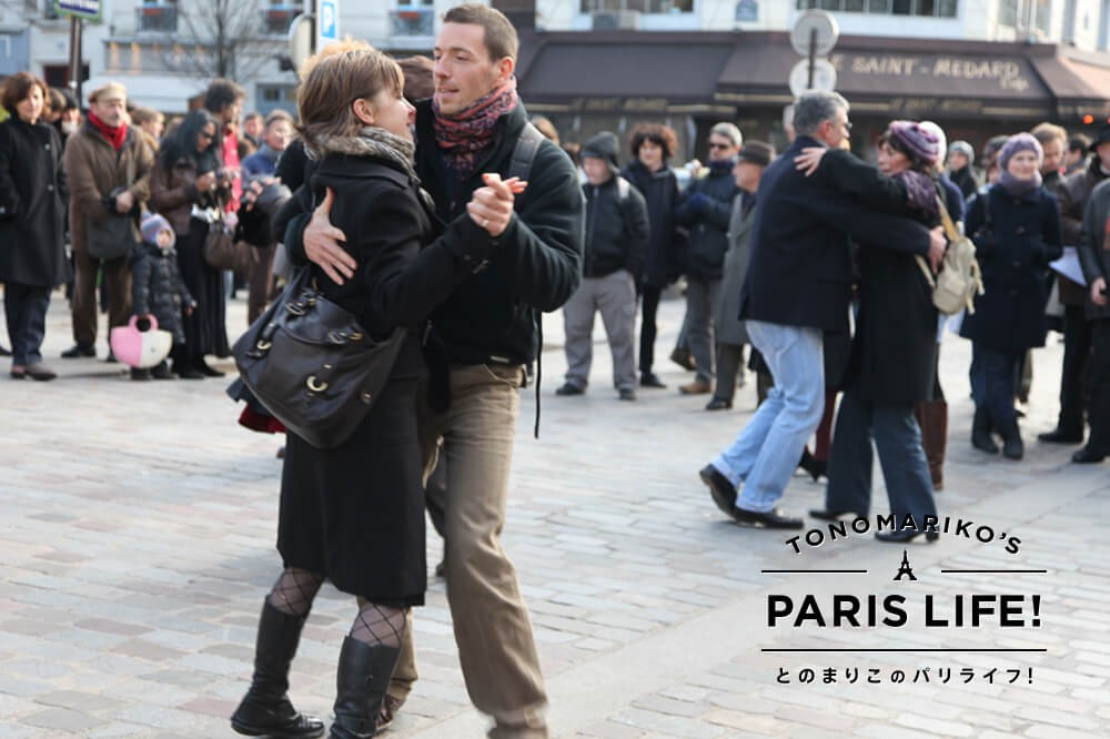 パリジェンヌはダンスがお上手!?マルシェで始まる踊りの時間