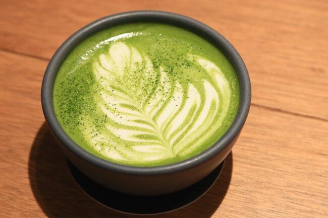 『グレインブレッドアンドブリュー』で秋から登場した抹茶ラテ