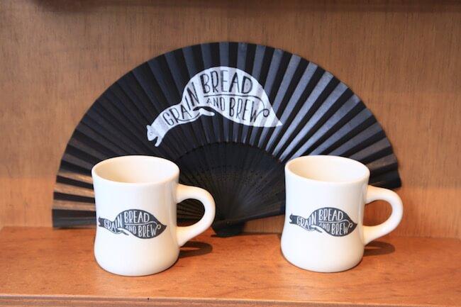 『グレイン ブレッド アンド ブリュー』のオリジナルマグカップ