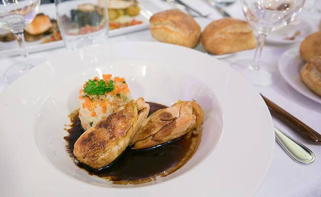 フランスのレストランでよく目にするジビエ料理