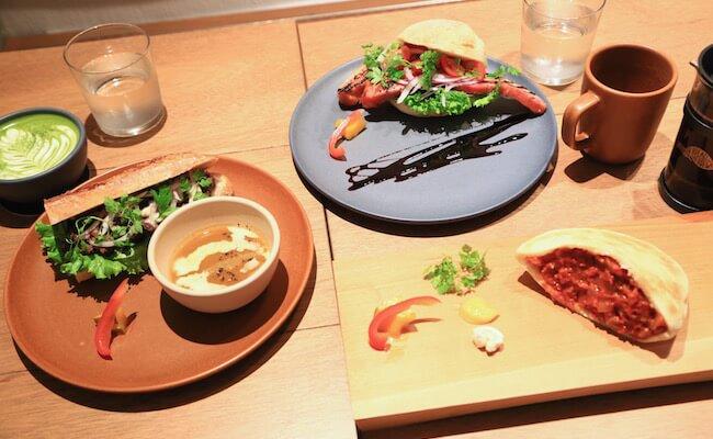 渋谷『グレインブレッドアンドブリュー』のユニークなサンドイッチ