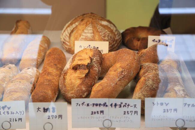 西荻窪『タグチベーカリー』のハード系パン