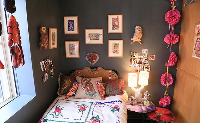 表参道のLe monde de Nathalie(ル・モンド・ドゥ・ナタリー)のベッドルーム