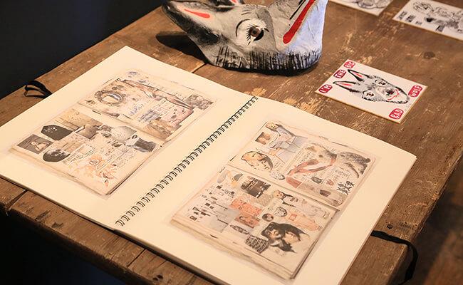 『H.P.DECO』で開催中のナタリー・レテ原画展『アトリエから、ナタリー。』