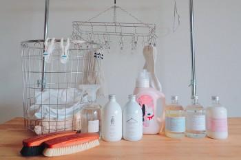 毎日のお洗濯時間が楽しくなる!ランドリーアイテムガイド