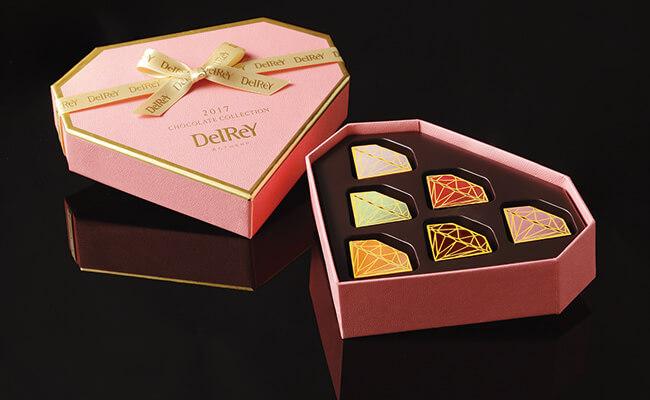 バレンタインデーチョコレートガイド DelRay/ダイヤモンドBOX