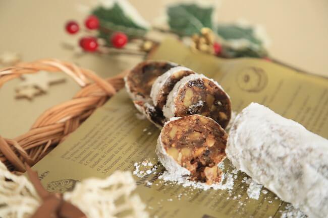 パレスホテル東京『Sweets & Deli(スイーツアンドデリ)』のベラヴェッカ・アン・ソシソンはナッツやフルーツがきっしり!
