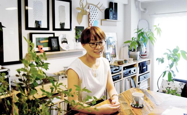 デザイナーの兎村彩乃さん