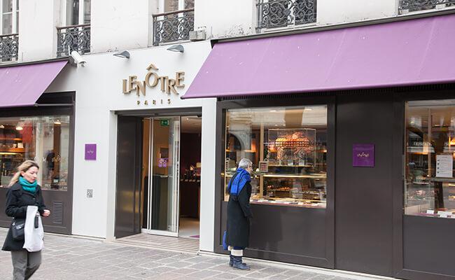 パリの高級惣菜店Lenôtre(ルノートル)