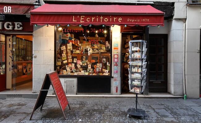 パリの文房具屋さん