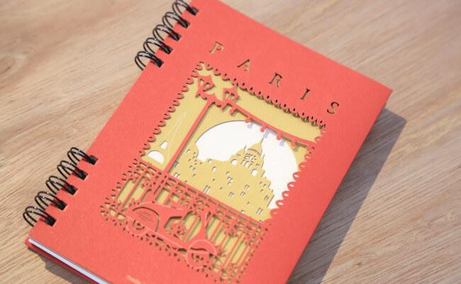 人気の「パリシリーズ」のノート