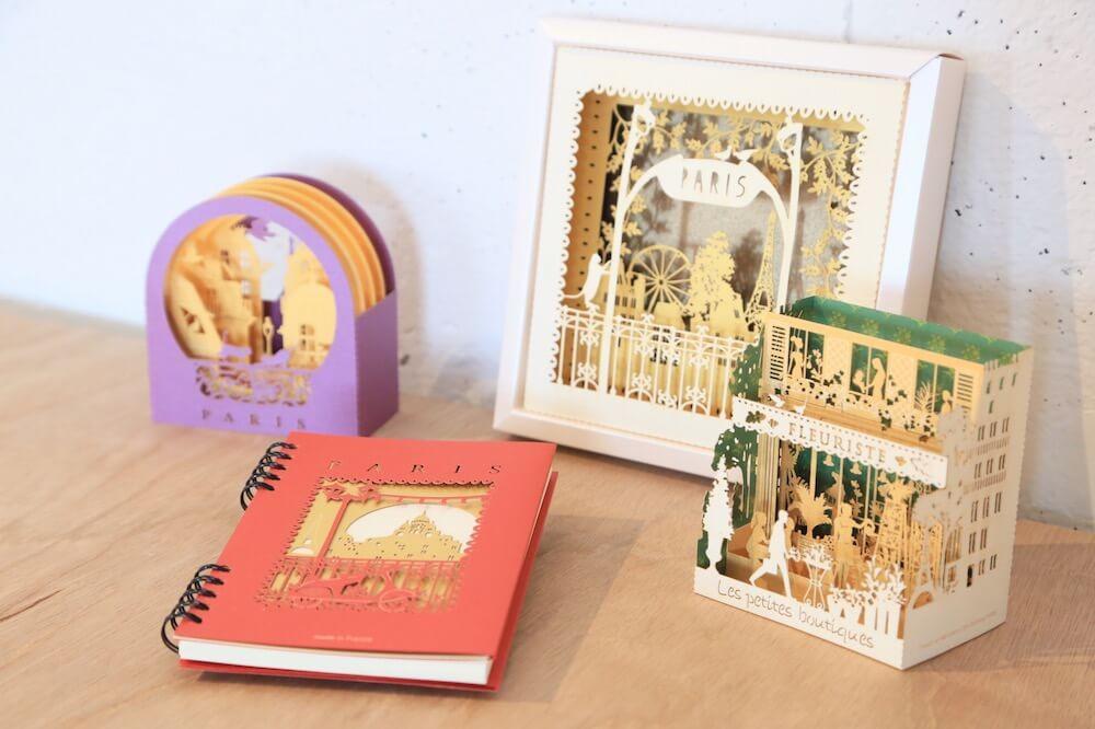 【プレゼント付き!】パリの文房具屋さんで人気の繊細なカード