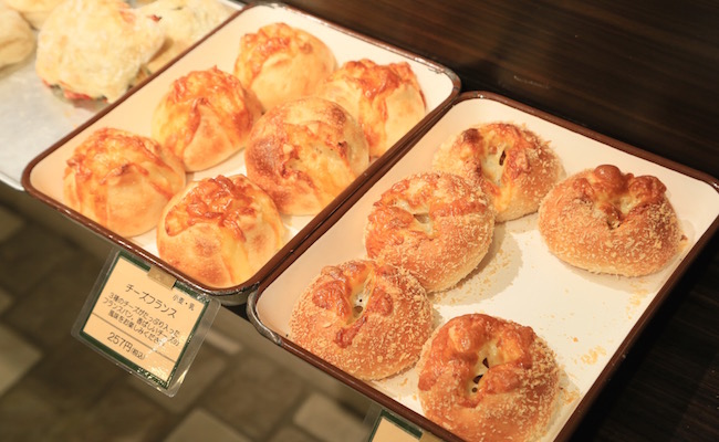 オリミネベーカーズのパン