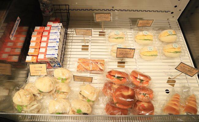 サンドイッチの種類も豊富なオリミネベーカーズ