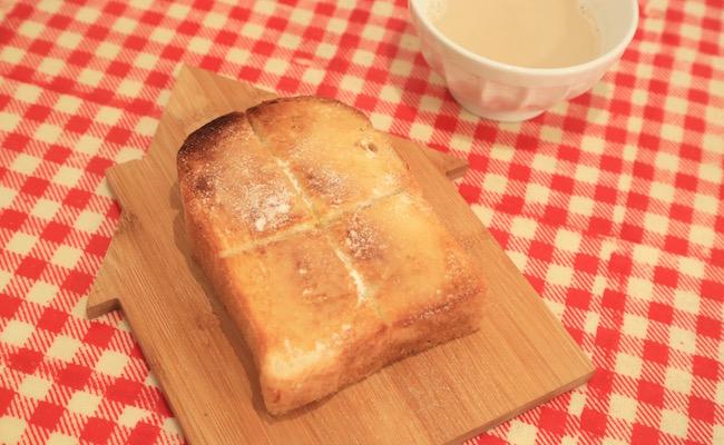 シンボパンのトーストメニュー