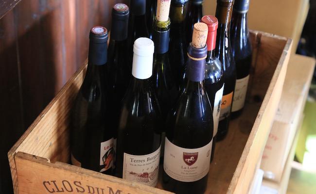 ワインの数々