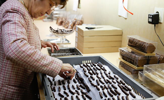 フランスのショコラティエで見つけたチョコレート