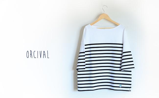 ORCIVAL/#6830(WHITE×BLACK)