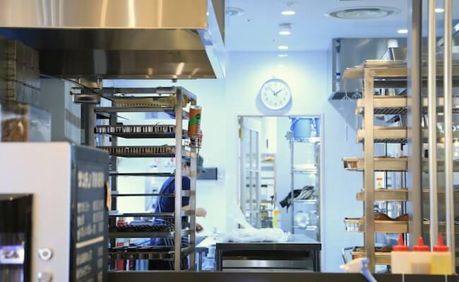 サンチノの厨房の様子
