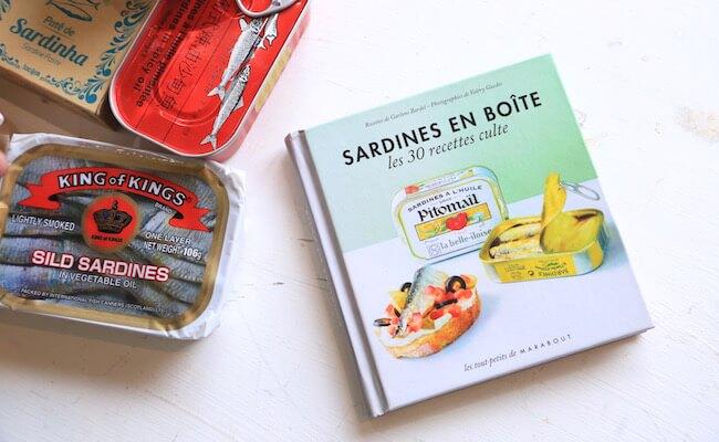 オイルサーディンのレシピブックといろいろな国のオイルサーディン缶