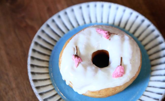 聖蹟桜ヶ丘『ハグジードーナツ』の「さくらドーナツ」