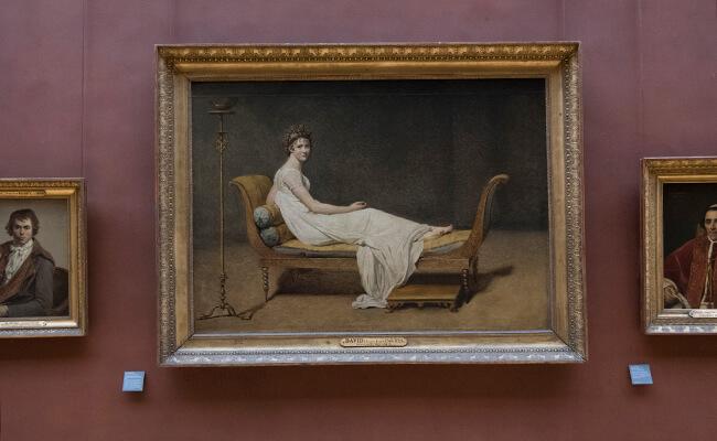 ルーブル美術館 マダム・レカミエの肖像
