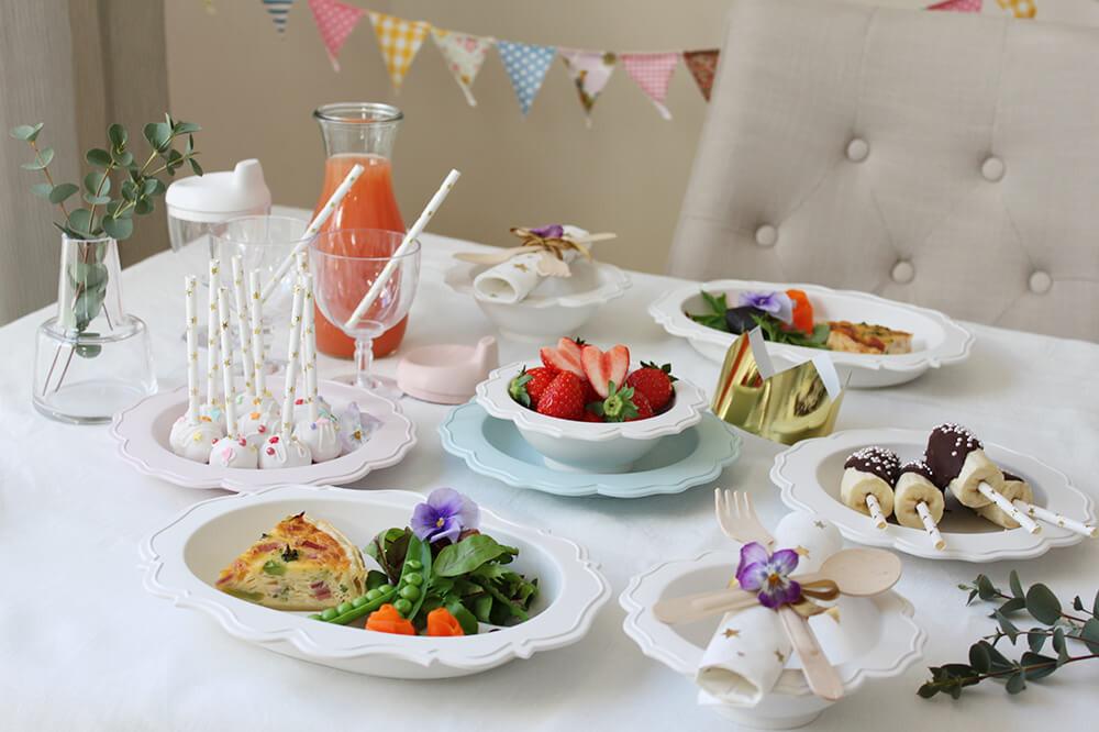 パパとママとディナーを楽しみたい!キッズ&ベビー用食器「Reale」