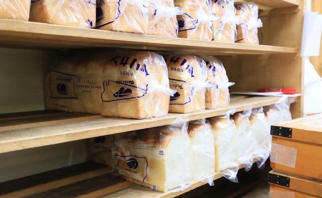 浅草『ペリカン』の山型食パン