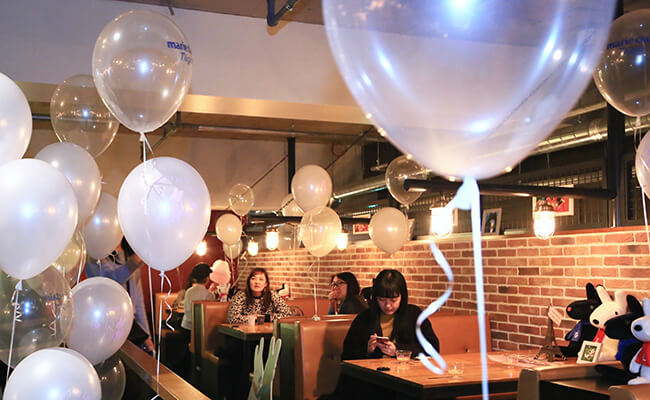 一夜だけのスペシャルパーティ!リサとガスパールとマリ・クレールがコラボレーション!