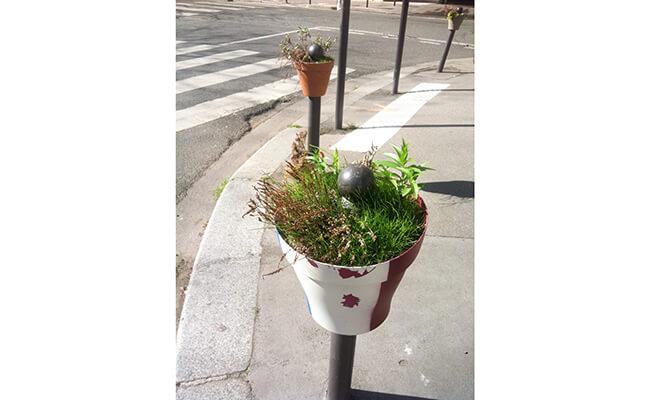 パリで人気のジャルダン•パルタジェ(Jardin partagé= 共有農園)