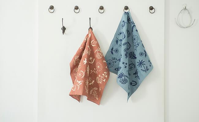 刺繍キット/gris/EMBROIDERY KIT(左から、antique rose、denim blue)