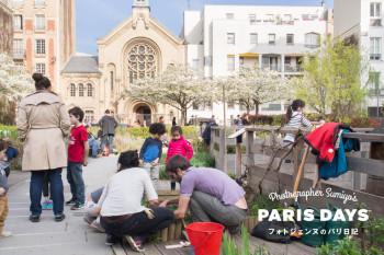 パリの街角で畑仕事!?パリの緑化政策が大人気!