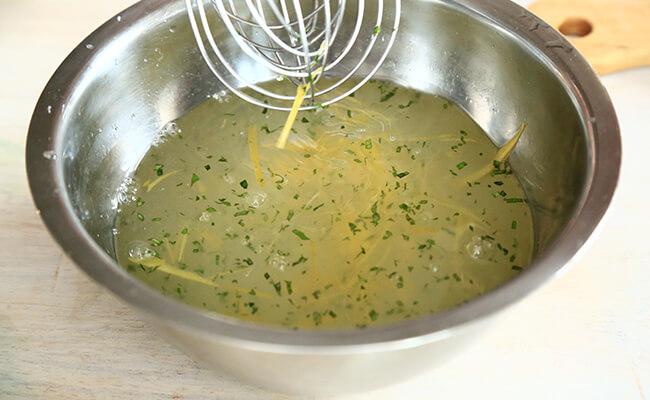フランス風かき氷グラニテの作り方